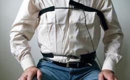 Bewegingsregistratie van de adembewegingen