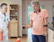 Vitaal functionerende patiënten voor en na een heup- of knievervangende operatie